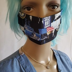 Protective Facemask- The Admiral (NWOT)